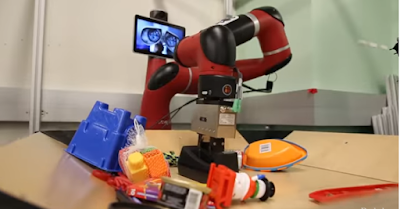 """Vestri — the robot that can """"see"""" future"""