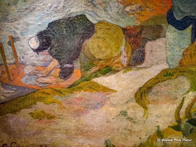 Lavanderas de Arles, Paul Gauguin - Museo Bilbao por EGVP