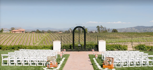 Los Angeles Outdoor Wedding Venues Villa De Amore Temecula Wedding Venue