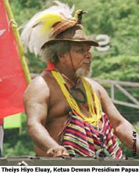 Alm. Dortheys H. Eluay dan Perjuangan Papua Merdeka ke Depan