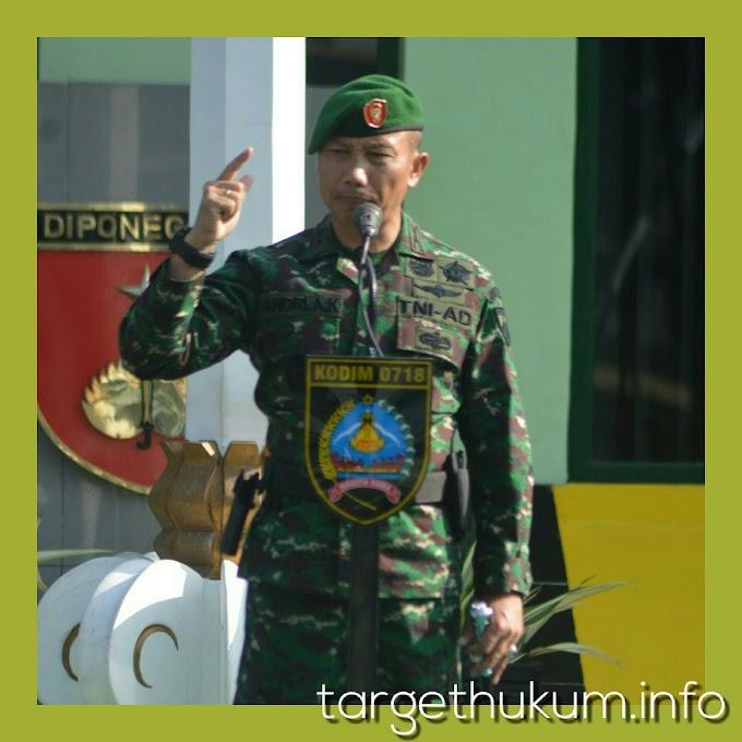 Kodim 0718 Pati Melaksanakan Upacara Minggu Militer Untuk Menumbuhkan Jiwa Patriotisme