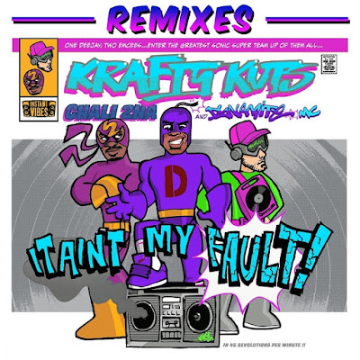 Krafty Kuts Unveils 'It Ain't My Fault' Remixes