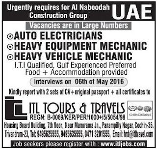 Job vacancies in Al Naboodah UAE