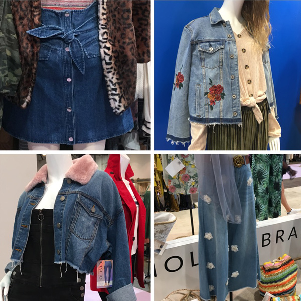 embellished denim trend 2019