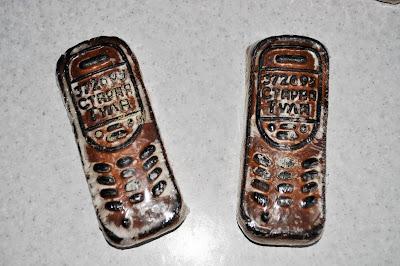 Пряники-телефоны
