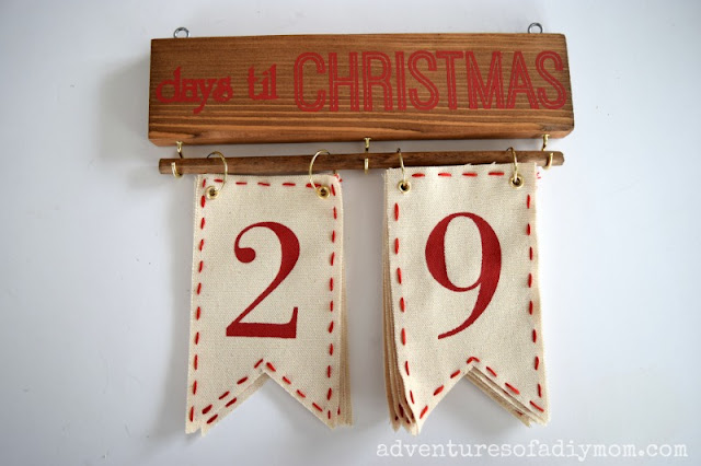 days til christmas sign