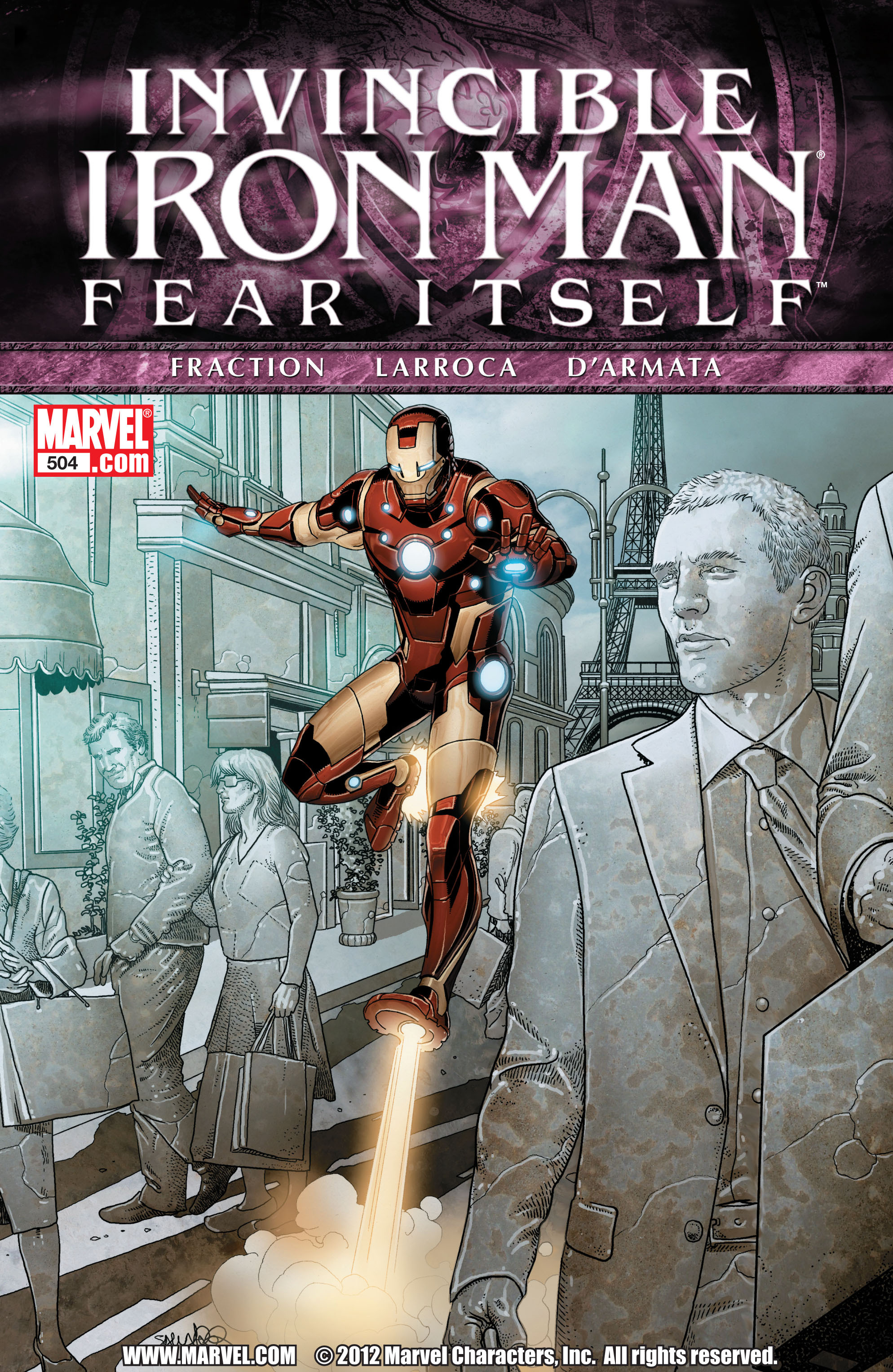 Invincible Iron Man (2008) 504 Page 1