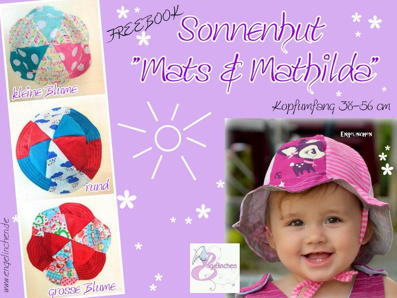 Engelinchen: Freebook: Sonnenhut Mats & Mathilda