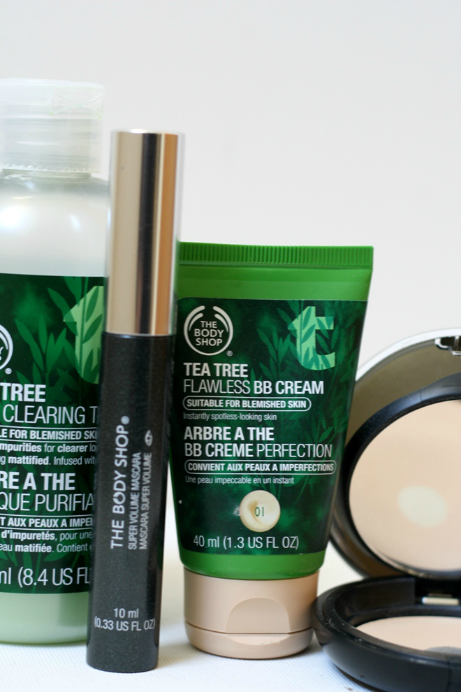 the body shop review, my favorite skincare products