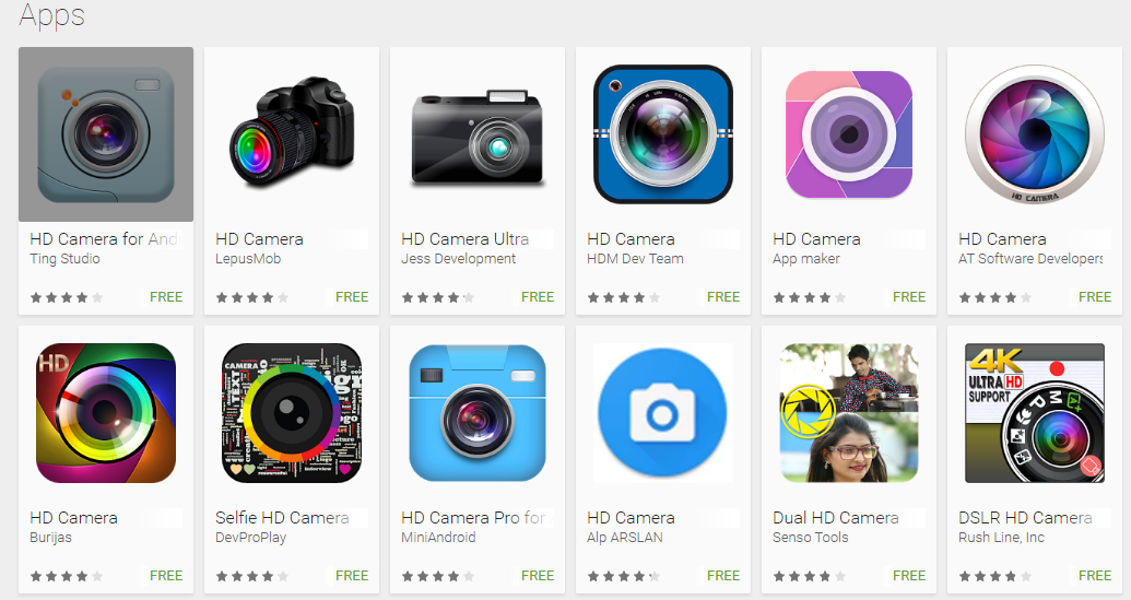Full HD Camera Downloadable Apps - Youth Apps
