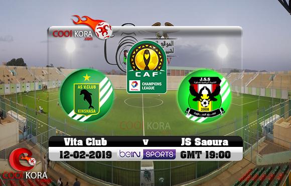 مشاهدة مباراة شبيبة الساورة وفيتا كلوب اليوم 12-2-2019 دوري أبطال أفريقيا