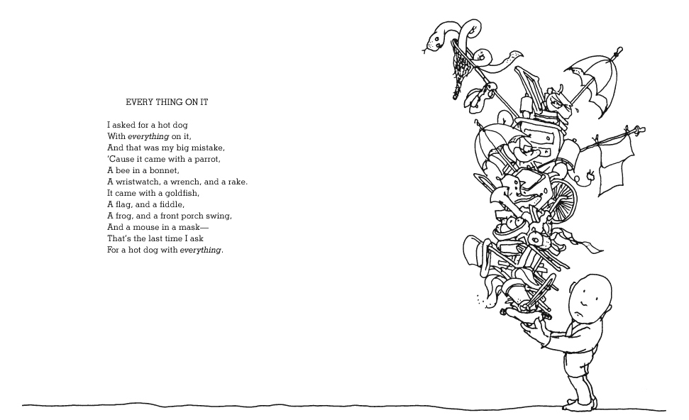 Shel Silverstein Poems About Love: Sketcharound: Everything On It
