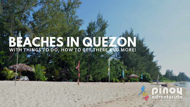 Beautiful Beaches in Quezon