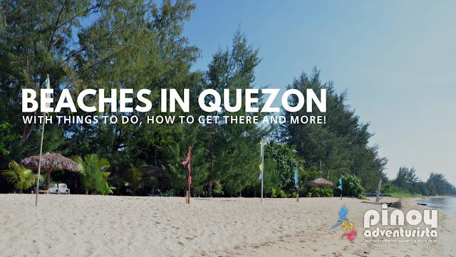 Beautiful Beaches in Quezon