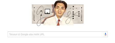 Google Doodle Prof. Dr. Samaun Samadikun