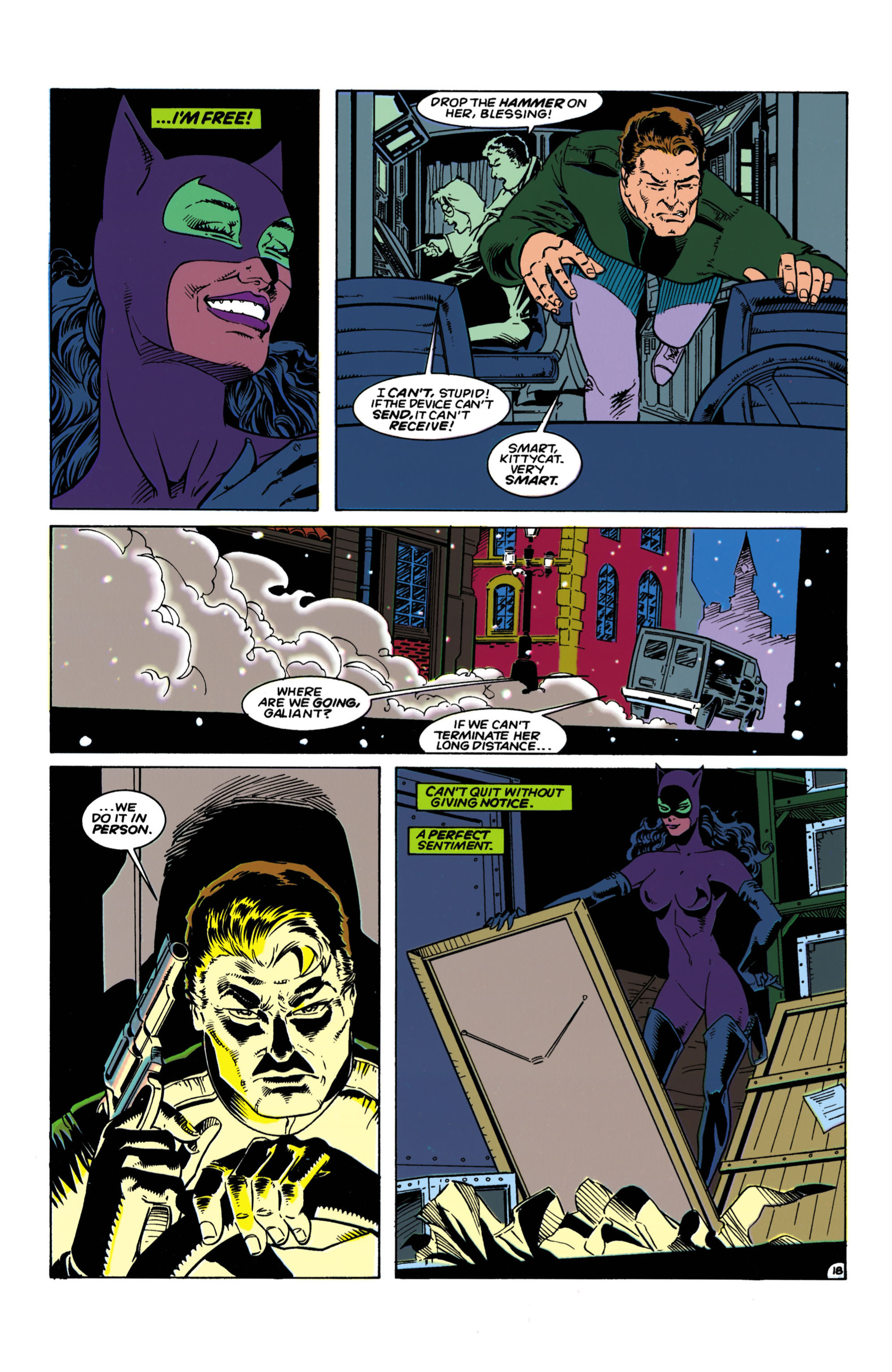 Catwoman (1993) Issue #17 #22 - English 19