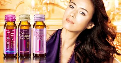 Công dụng đến từ shiseido the collagen enriched dạng nước