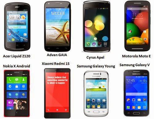 Review: 8 Pilihan HP Android Murah Harga Satu Jutaan Tahun 2014