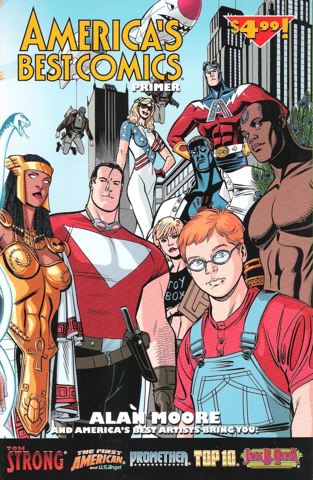 Pamphlets of Destiny: America's Best Comics Primer