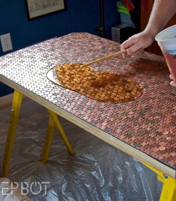 Diy Coins Table The Idea King