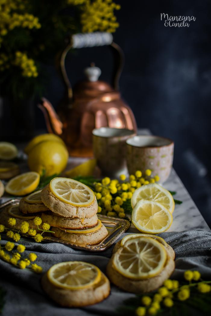 Galletas de almendra y limón