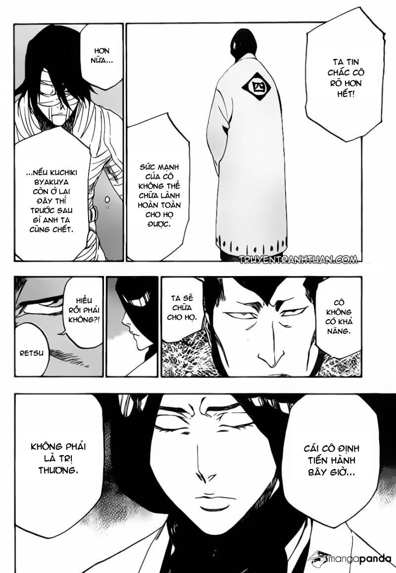 Bleach chapter 517 trang 16