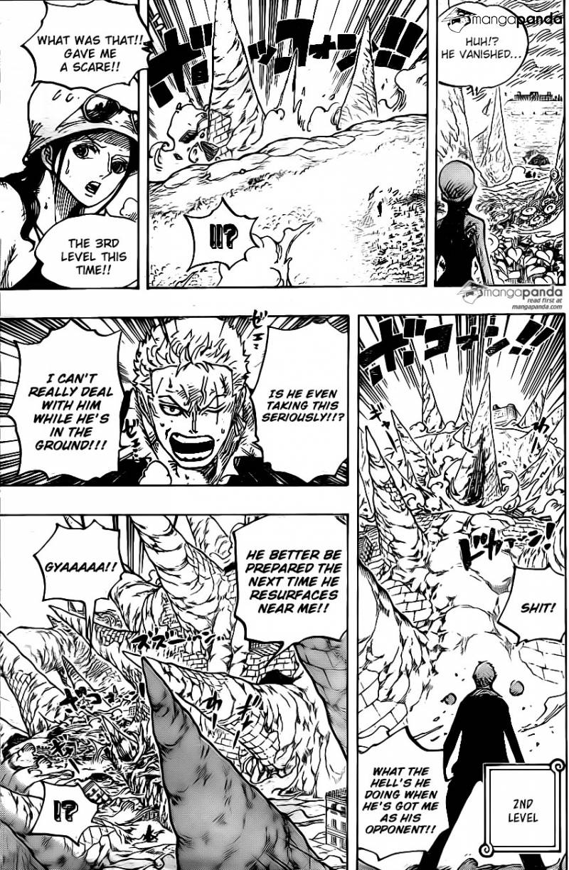 One Piece Ch 777: Zoro vs Pica