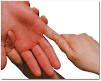 массаж рук, массаж мизинца