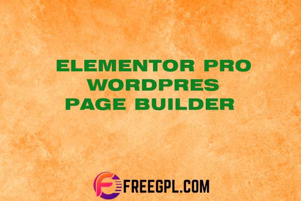 Elementor Pro v3.0.9 - WordPress Page Builder Free ...