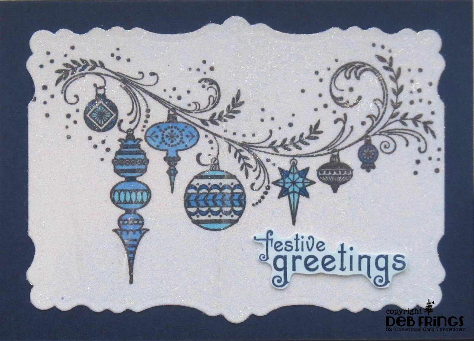 Festive Greetings - photo by Deborah Frings - Deborah's Gems