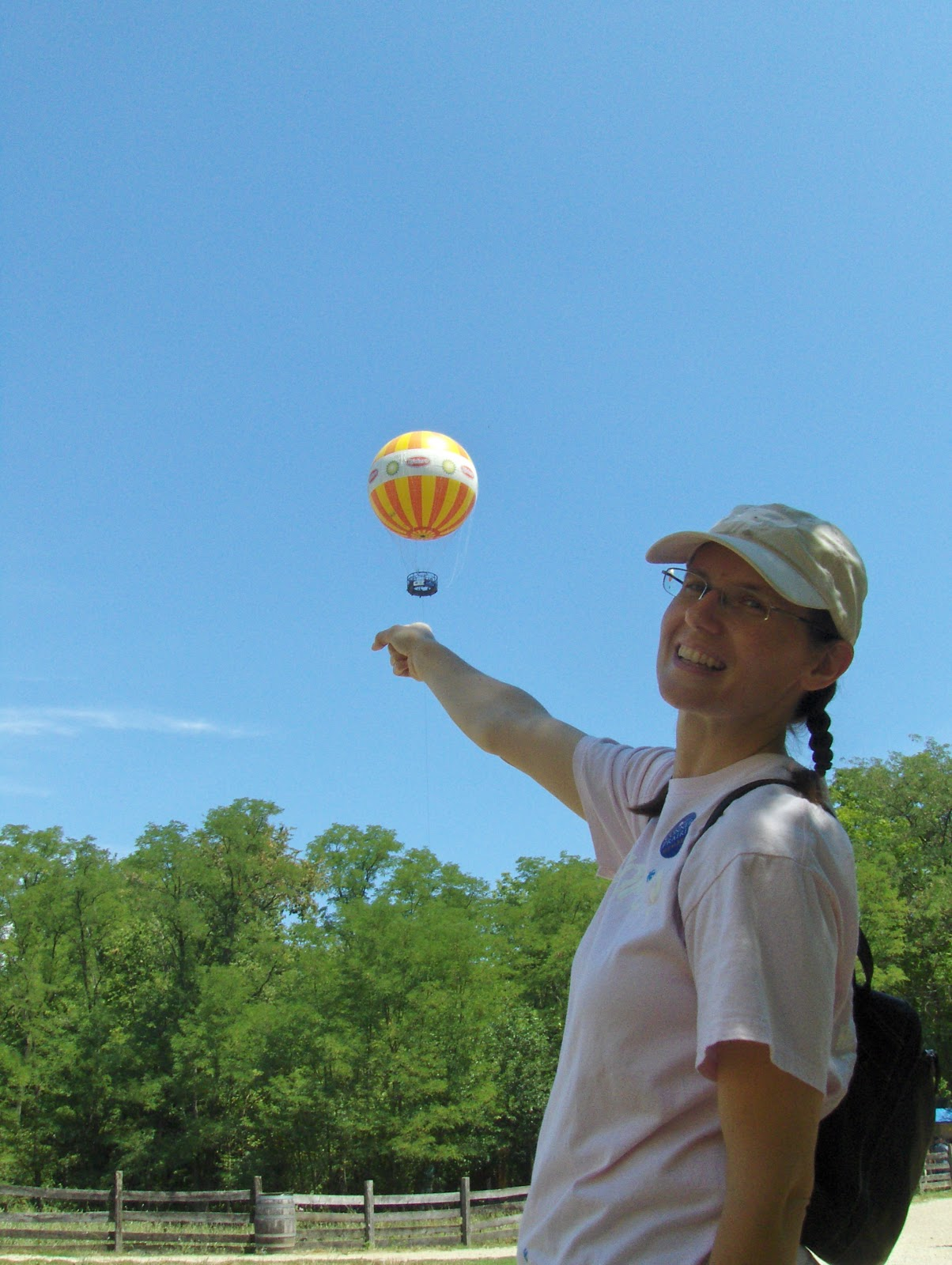 Conner Prairie, tethered balloon rides, summer fun