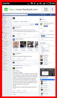 view desktop version of facebook on android