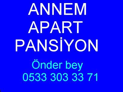 ANNEM PANSİYON İRTİBAT
