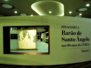 Exposição da Pinacoteca Barão do Santo Ângelo na Reitoria da UFRGS