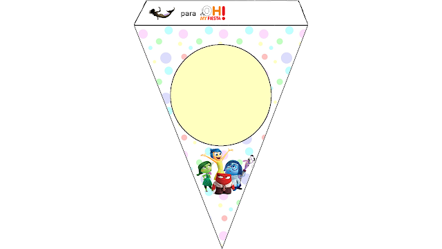 Inside Out Free Printable Bunting.