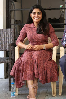 Actress Niveda Thomas Stills At 118 Movie Success Celebrations