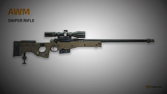 اقوى سلاح في لعبة ببجي