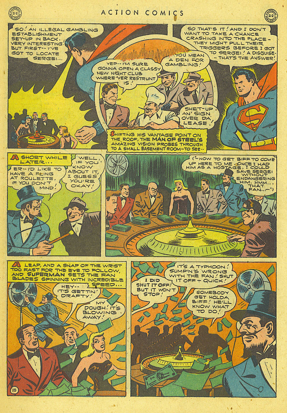 Read online Action Comics (1938) comic -  Issue #78 - 11