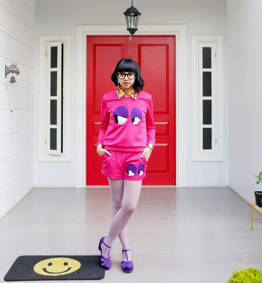 Rumah Unik Fashion Blogger Diana Rikasari