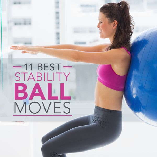 11 Best Stability Ball Moves