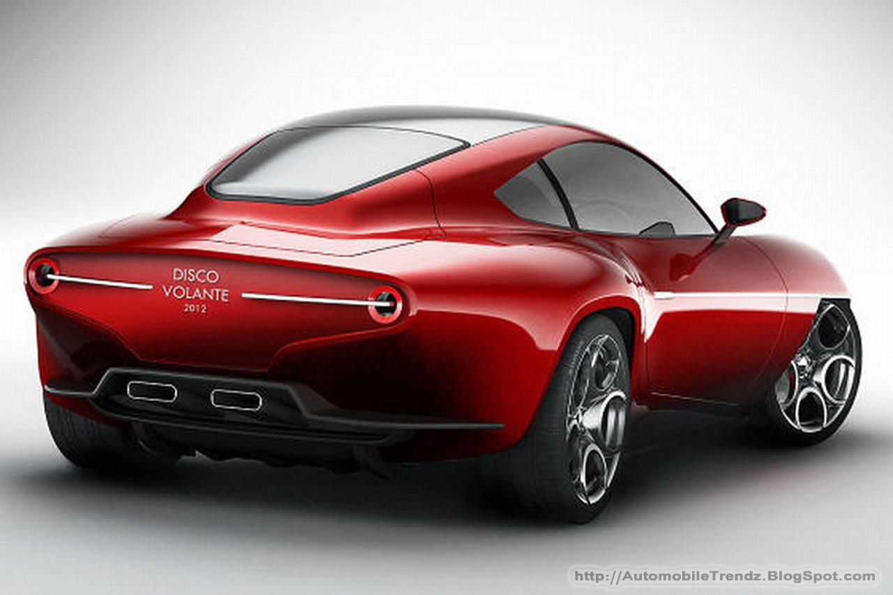 automobile trendz 2012 alfa romeo disco volante. Black Bedroom Furniture Sets. Home Design Ideas