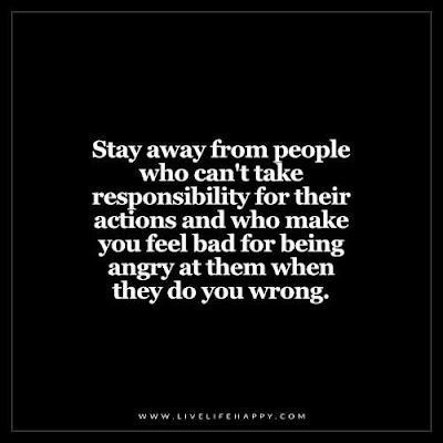 deep life quotes: stay away from people who can't take