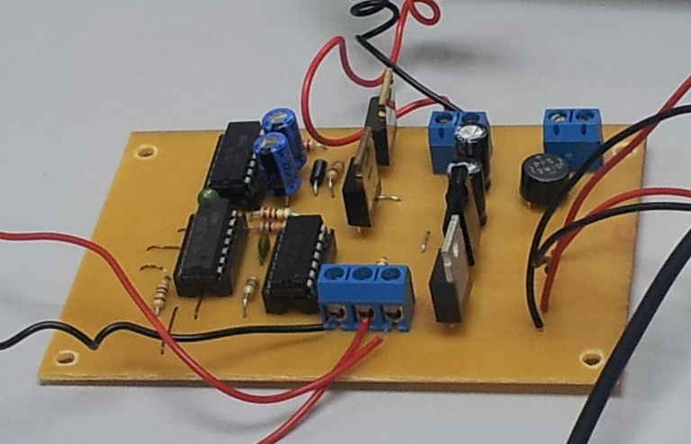 Keychain Laser Driver Circuit