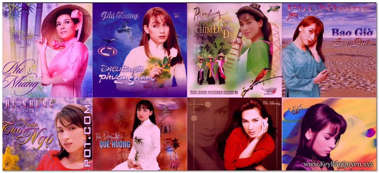 Tổng hợp tất cả Album nhạc của Phi Nhung [ WAV + FLAC ]
