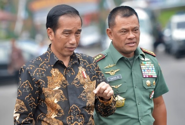 Duet Jokowi - Jenderal Gatot DI Pilpres 2019