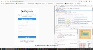 Cara Meng-Upload Gambar Ke Instagram Melalui Laptop
