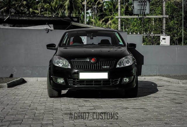 Grid7 customs skoda rapid