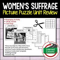 Women's Suffrage Picture Puzzle