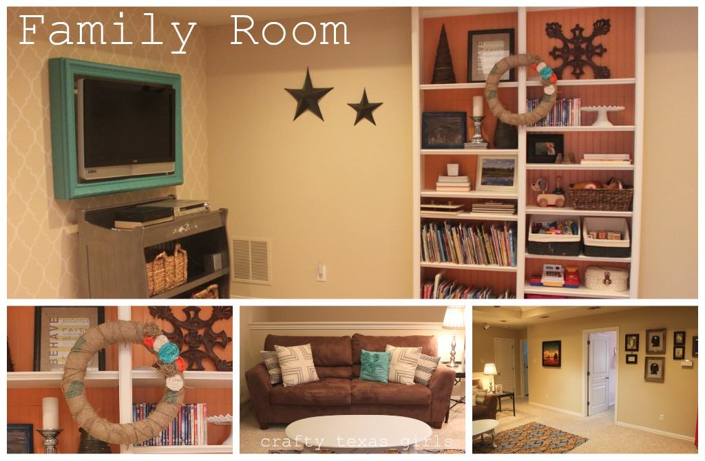 Wonderful Remodelaholic | Play Room Updated To A Colorful Family Room RY06