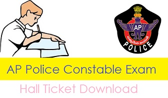 AP Police Constable Hall Ticket 2018